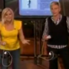 Ali Sweeney on Ellen doing EA SPORTS Active