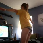 Screenshot of Wii Fit Girl YouTube Video