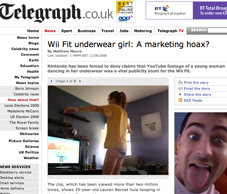 Telegraph UK Screen Shot