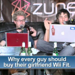 Wii Fit Girl on Diggnation Thumbnail