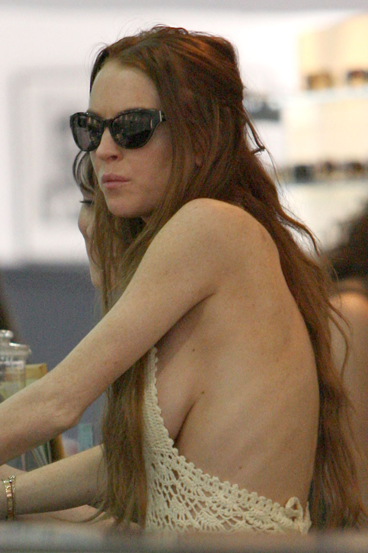 Skinny Lindsay Lohan
