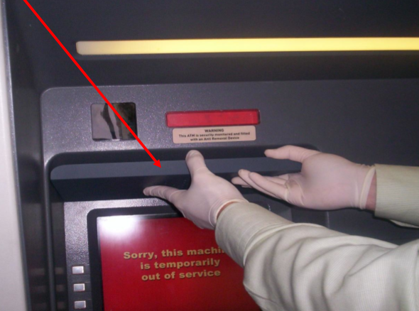 ATM Pin Capturing Device 5