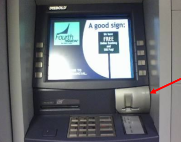 ATM Skimming Device 2